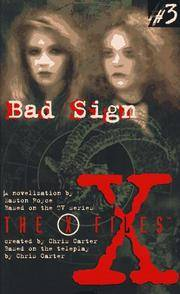 x files - 3 bad sign
