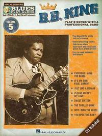 B.B. King - Blues Play-Along Volume 5 (Book/CD) (Hal Leonard Blues Play-Along)
