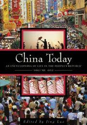 China Today:  Two Volume Set