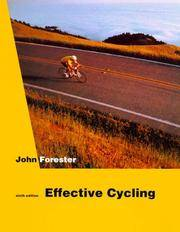 Effective Cycling (sixth edition)