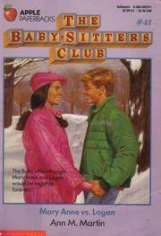Mary Anne vs. Logan (Baby-Sitters Club #41) by Ann M. Martin