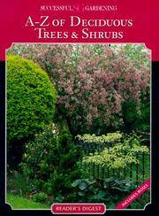 A-Z of Deciduous Trees and Shrubs