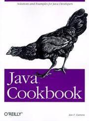 Java Cookbook by Ian F. Darwin  - Paperback  - 2001-01-15  - from Ergodebooks (SKU: DADAX0596001703)