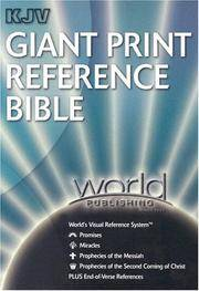 KJV Giant-Print Reference with World's Visual Reference System (tm)