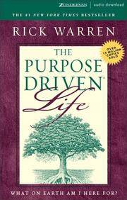 image of The Purpose Driven? Life: What on Earth Am I Here For?
