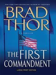 The First Commandment: A Thriller (Thorndike Core)