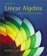 image of Linear Algebra and Its Applications (3rd Edition)