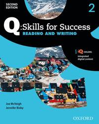 Q 2e 2 Read&write Students Book Pack
