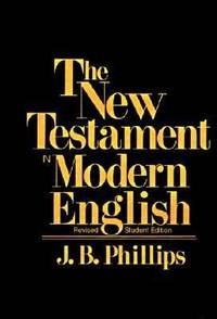 image of New Testament in Modern English (Student ed)