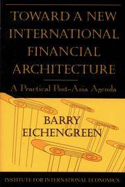 Toward a New International Financial Architecture