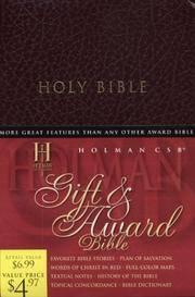 HCSB Gift & Award Bible, Burgundy Imitation Leather