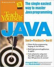 Teach Y ourself Java