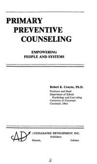 Primary Preventive Counseling