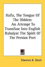 Hafiz, the Tongue Of the Hidden