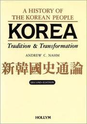 Korea Tradition & Transformation A History of the Korean People