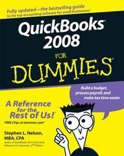 Quickbooks 2008 For Dummies