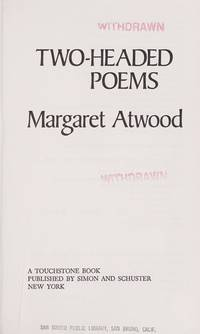 Two-Headed Poems by Margaret atwood - 1981-01-07 - from Books Express and  Biblio com