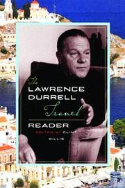 The Lawrence Durrell Travel Reader