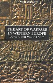 The Art of Warfare in Western Europe during the Middle Ages from the Eighth Century (Warfare in...