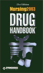 Nursing2003 Drug Handbook