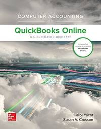 Computer Accounting with QuickBooks Online A Cloud Based Approach