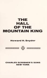 The Hall of the King Mountain
