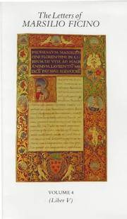 image of The Letters of Marsilio Ficino: Volume 4