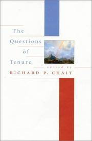 The Questions of Tenure