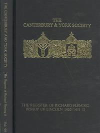 The Register of Richard Fleming, bishop of Lincoln 1420-1431: II (Canterbury & York Society) (No. II) by Editor-N.H. Bennett - Hardcover - 2009-01-15 - from Ergodebooks (SKU: SONG0907239714)