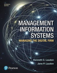 image of Management Information Systems: Managing the Digital Firm