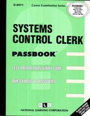 Systems Control Clerk, C-3571