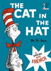 image of The Cat in the Hat in English and French (Le Chat Au Chapeau)