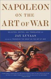 image of Napoleon On the Art of War