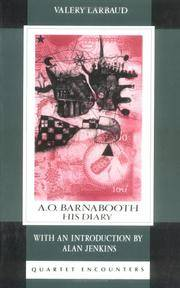 A. O. Barnabooth: His Diary