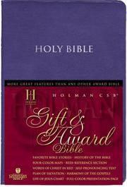 HCSB Gift & Award Bible, Blue Imitation Leather