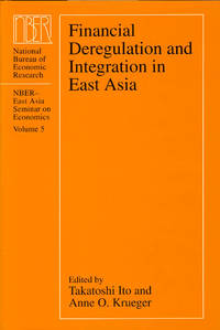 Financial Deregulation and Integration in East Asia