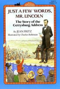 image of Just a Few Words, Mr. Lincoln (All Aboard Reading/Level 3 : Grades 2-3)