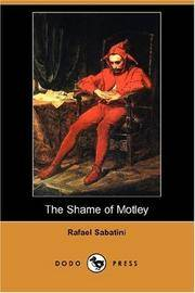 image of The Shame of Motley (Dodo Press)