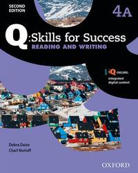 Q Skills for Success: Level 4: Reading & Writing Split Student Book a with IQ Online
