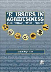'E' Issues in Agribusiness