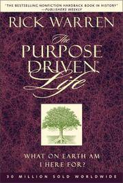 image of The Purpose Driven Church : Growth Without Compromising Your Message & Mission