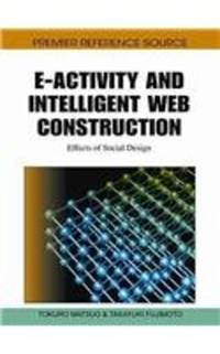 E ACTIVITY AND INTELLIGENT WEB CONSTRUCTION EFFECTS OF SOCIAL DESIGN