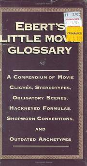 Ebert\'s Little Movie Glossary