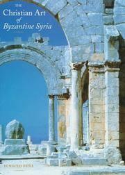 The Christian Art of Byzantine Syria