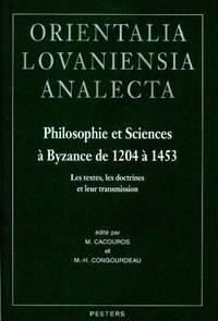 Philosophie et sciences