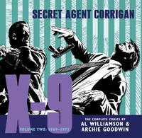 X-9: Secret Agent Corrigan: The Complete Comics, Volume 2, 1969-1972)