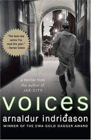 Voices: An Inspector Erlendur Novel