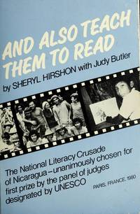 And Also Teach Them to Read by Hirshon, Sheryl L., with Judy Butler