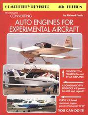 Converting Auto Engines for Experimental Aircraft