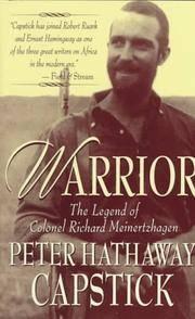 image of Warrior: The Legend Of Colonel Richard Meinertzhagen